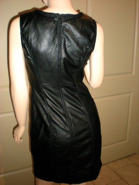 M.S.S.P. Faux Leather Dress