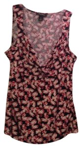 White House | Black Market Top RED MULTI