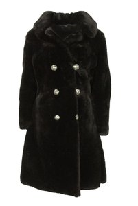 Spear & Picardi Satin Lining Special Buttons Fur Coat