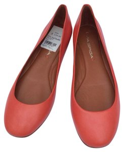 Via Spiga Ballet Coral Red Flats