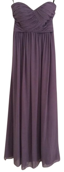 Item - Victorian Lilac Chiffon 386 Traditional Bridesmaid/Mob Dress Size 2 (XS)