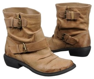 MIA Motorcycle Tan Boots