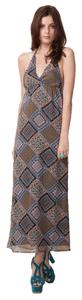 Multicolor Scarf Maxi Dress by What Goes Around Comes Around