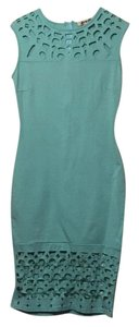 Mystic short dress Teal on Tradesy