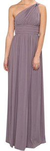 Donna Morgan Bridesmaid One Shoulder Gown Dress