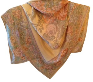 Liz Claiborne Silk square Scarf with rolled edges