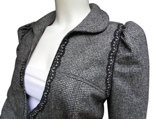 Andrew Gn Lace Women Made In France Gray Jacket