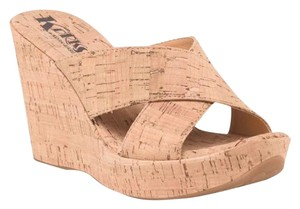 5a8dd8c059 Kork-Ease Natural Cork Korks Kariann Sandals Size US 10 Regular (M ...