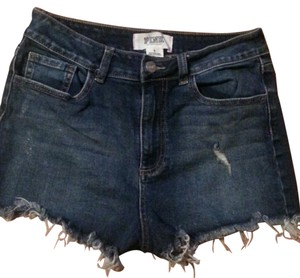 Victoria's Secret Distressed Cut Off Shorts Blue