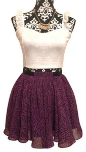 Lucca Couture Mini Skirt