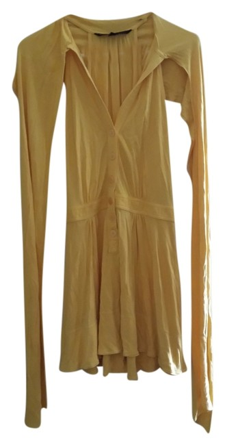 Marc by Marc Jacobs short dress Yellow on Tradesy