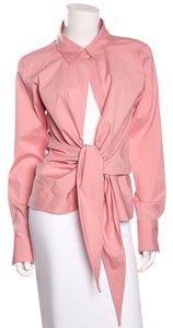 Donna Karan Top Dusty Rose