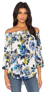 Fifteen Twenty Viscose Patterns Top floral