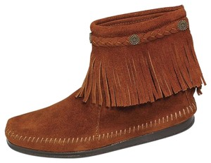 Minnetonka Suede Moccasins Bohemian Boots