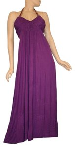 PURPLE Maxi Dress by Marineblu