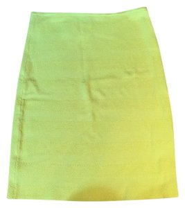 Torn by Ronny Kobo Mini Elastic Stretchy Bright Mini Skirt Yellow