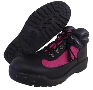 Timberland Pink / Black Boots