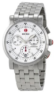 Michele Michele Sport Sail MWW01C000021 Stainless White Dial Chronograph Watch