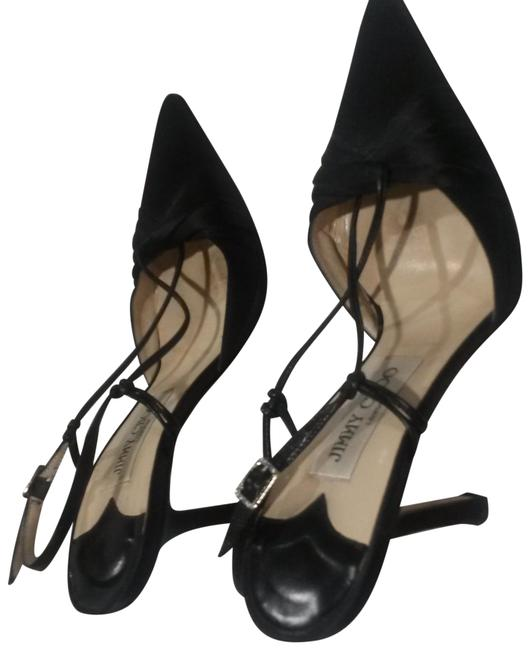 Item - Black Evening Formal Shoes Size US 7 Narrow (Aa, N)