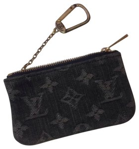 Louis Vuitton Denim Coin Neo Onix Clutch