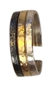 GURHAN GURHAN NWT TRICOLOR FUSED BAND RING