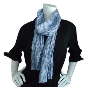 OBEY OBEY blue gingham plaid NWT scarf