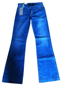Kasil Trouser/Wide Leg Jeans-Medium Wash