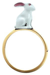 solange azagury partridge Solange Azagury Partridge Rabbit Zodiac Ring 18K Yellow Gold $2,450.00