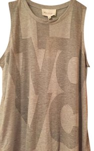 Vince Camuto Cool Urban Top heather grey