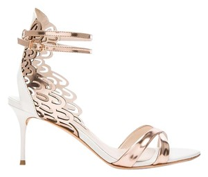 Sophia Webster Micah Rose Gold Pumps