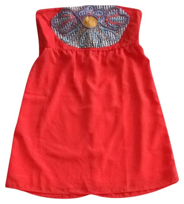 Preload https://item5.tradesy.com/images/judith-march-orange-with-multi-color-bedding-short-casual-dress-size-8-m-1683964-0-0.jpg?width=400&height=650