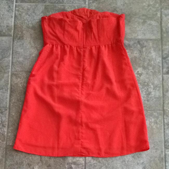 Judith March short dress Orange with multi-color bedding on Tradesy