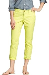 Old Navy Crop Khaki Skinny Pants Sauerkraut
