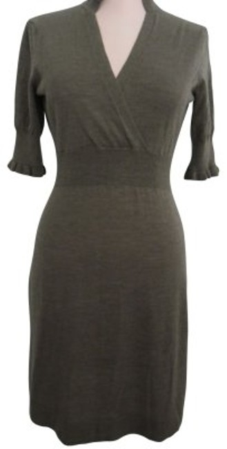 Preload https://img-static.tradesy.com/item/16840/banana-republic-taupe-brown-sweater-knee-length-workoffice-dress-size-2-xs-0-0-650-650.jpg