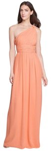Donna Morgan Long Flowy Gown One Shoulder Dress