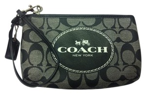 Coach F51783 51783 Wristlet in Black/White