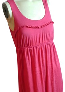 Soprano short dress salmon on Tradesy