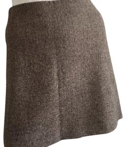 Theory Mini Skirt Brown