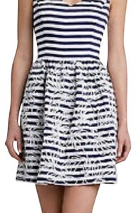 Lilly Pulitzer short dress Navy/white on Tradesy