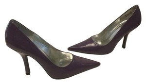 Chinese Laundry Padded Insoles Heels Purple leather Pumps