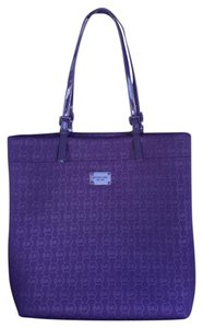 Michael Kors Mk Jet Set Tote in Purple