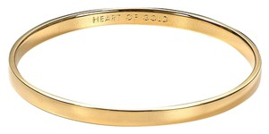 Kate Spade Kate Spade Heart Of Gold Idiom Bangle Bracelet