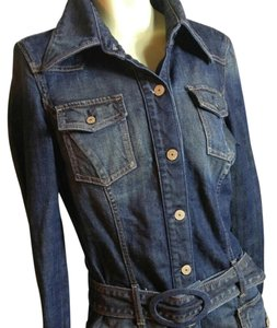 7 For All Mankind blue Jacket