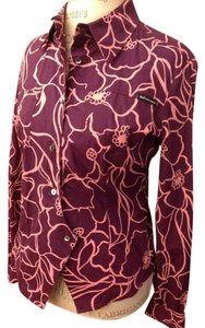 Dolce&Gabbana Button Down Shirt Purple and pink