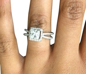 1.25 Carat Diamond Engagement Ring with Band
