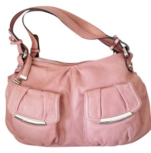 B. Makowsky Dustry Rose Hobo Bag