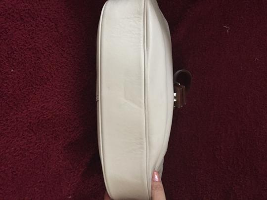 Coach Leather White Hobo Bag