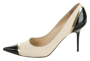 Jimmy Choo Lilo Creme Pumps