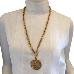 Chanel Chanel Vintage Madallion Necklace