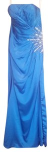 Studio 17 Evening Formal Prom Pageant Blue Dress